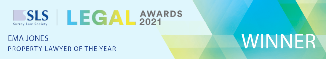 Typographic of Ema Jones Property Lawyer of the Year 2021