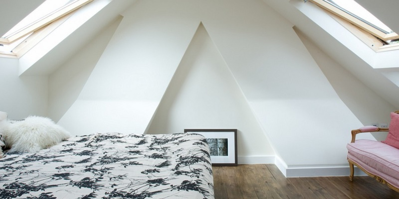 Attic conversion signifying building regulations certificate