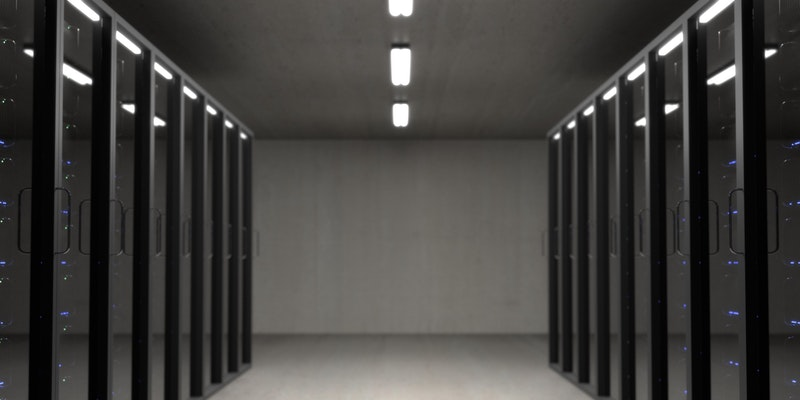 Server Racks in Building
