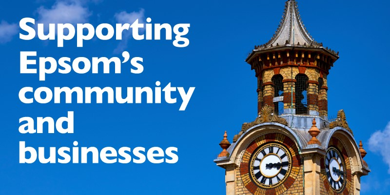 Supporting Epsom's community