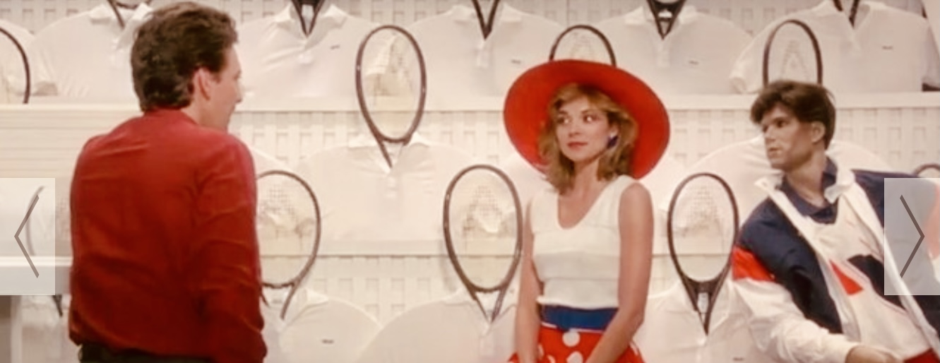 Kim Cattrall in the movie Mannequin