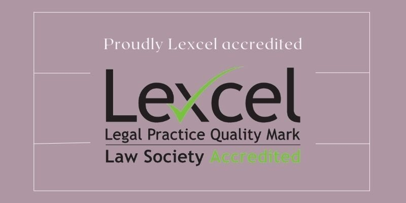 Typographic logo of Lexcel for the Legal Practice Quality Mark